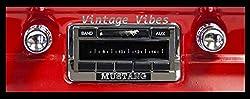 professional 1964-1966 Ford Mustang Custom Auto Sound USA-230AM / FM Stereo Radio 200W