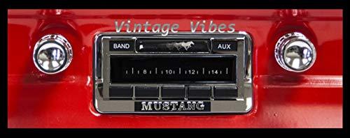 1964-1966 Ford Mustang Custom Autosound USA-230 AM/FM Stereo Radio 200 watts