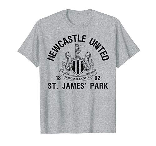 New Castle United St James Park T-shirt Grey