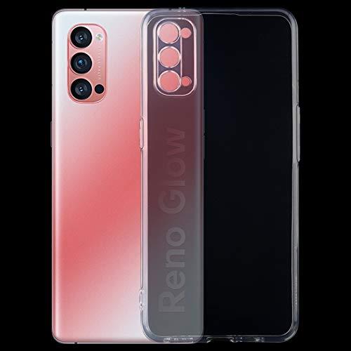 ZHENGNING Custodia protettiva for Oppo Reno 4 Pro 5G 0,75 mm ultradünne transparente TPU-Schutzhülle Custodia sottile per Smartphone
