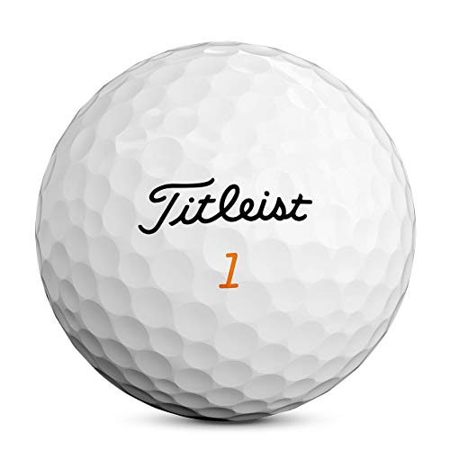 Titleist Velocity Golf Balls, White, (One Dozen)