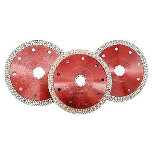 Cirkelzagen 105/115/125mm Wave Style Diamantzaagblad voor porseleinen tegel Keramisch Droog Snijden Agressieve Schijf Marmeren Graniet Stone Saw Blade Metaal-Snijzagen