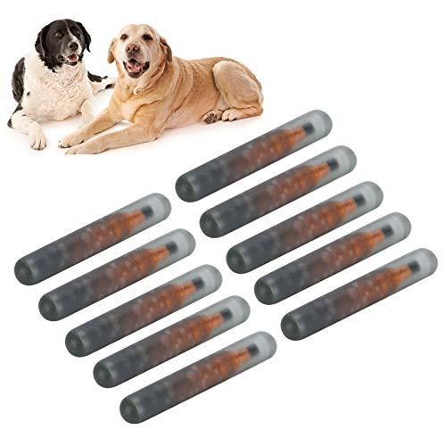 Diermicrochip, glasplaatje voor huisdieridentificatie, handige antislip voor soortreproductie Diermanagement
