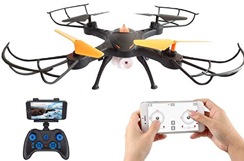 Amitasha New 480p Wi-Fi Camera Drone with 360° Flip Action and Headless Mode