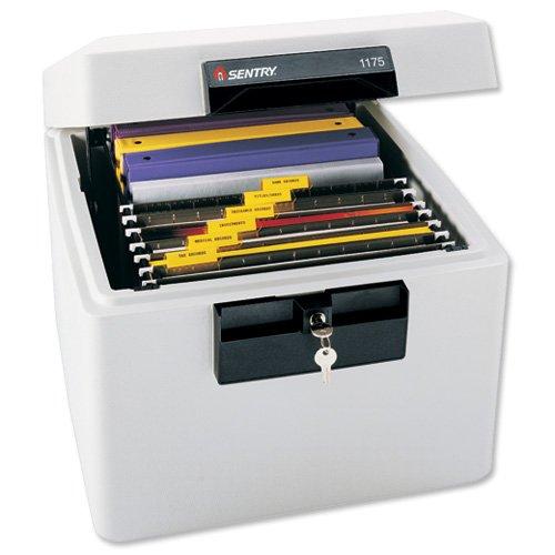 Sentry fire-safe Security file box per A423.1kg 36.4l W441x D437x H357MM ref SN1175
