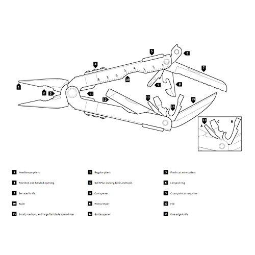 Gerber MP600 Multi-Plier, Needle Nose, Black [47550]