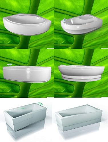 Badewannenverkleidung - Acrylschürze - Viertelkreis