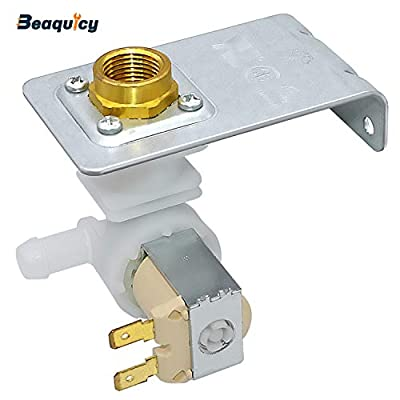 Beaquicy 154637401 Water Inlet Valve Assembly - Replacement for Crosley Gibson Kenmore Tappan White Westinghouse Dishwasher