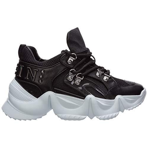 PHILIPP PLEIN Sneakers Runner Statement Donna Nero 36 EU