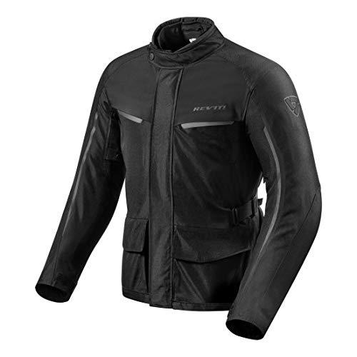 Revit Voltiac 2 - Chaqueta para moto (talla XL), color negro