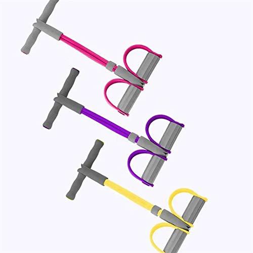 YaGFeng Bandas De Ejercicio Múltiples Funciones filetea Abdomen Aptitud Deportes del Ejercicio de la Pierna Camilla Abdominales Piernas de Asistencia Cintura (Color : Purple, Size : One Size)