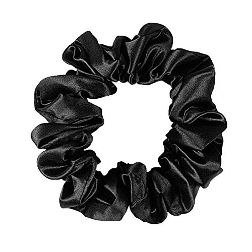 OC Firm 100% Mulberry Silk Hair Scrunchies, 22 Mumi Elastic Hair Bands Ties, Solid Color Hair Bobbles Ponytail Holder for Girls Womens