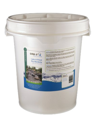 Orb-3 Lake and Pond Dry Bacteria Pail Bulk, 10-Pound