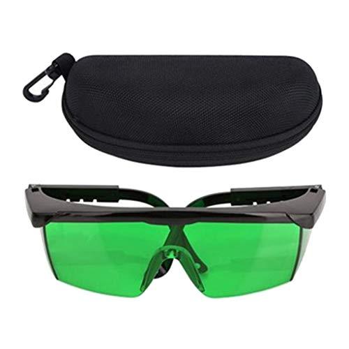 Shiwaki Gafas de Mejora Protección de los Ojos, la Parte Lateral y la Nariz son Ajustables y Pueden Ajustarse Perfectamente Sin Deslizarse - Verde