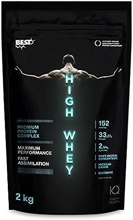 High Whey 83% combinacion de 3 proteinas. (Cookies)