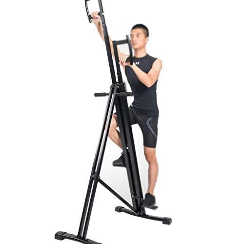 Kays Vertical Climber Maschine Übung Stepper Indoor-vertikale Kletterübungsmaschine Home Stepping Fitnessgeräte Dreieckige stabile Struktur mit Rutschfester Pedal