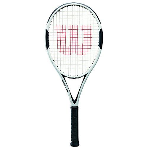 Wilson Tennisschläger, H6, Unisex, Ambitionierte Freizeitspieler, Griffstärke L2, Weiß/Schwarz, WRT57330U2