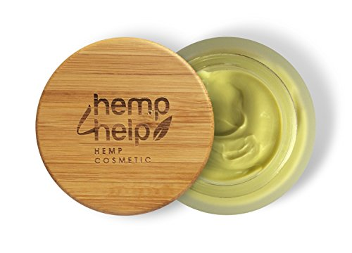 FEUCHTIGKEITS-CREME+NACHT-PFLEGE von Hemp4Help: BIO Hanf-Öl Jojoba-Öl und Arganöl Extrackt, Shea-Butter, Vitamin-E. BIO GESICHTS-CREME für TROCKENE-SENSIBLE Haut sowie FETTIGE-ENTZÜNDLICHE Haut | 50ml