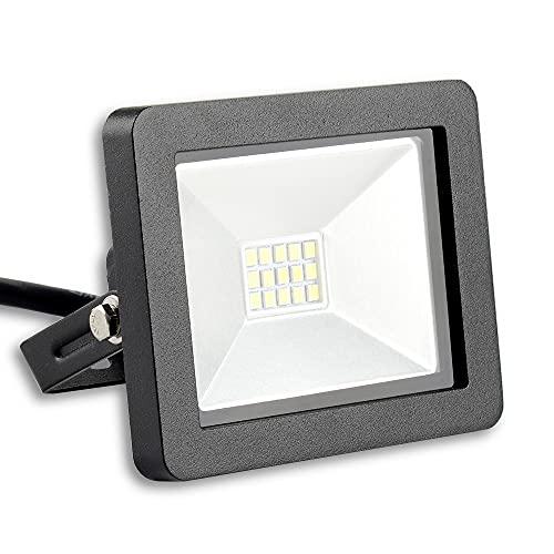 LED Akku Tischleuchte dimmbar ohne Kabel innen & außen warmweiß IP54 Up & Down (Anthrazit)