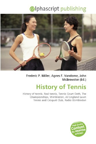 History Of Tennis: History of tennis, Real tennis, Tennis Court Oath, TheChampionships, Wimbledon, All England Lawn Tennis andCroquet Club, Radio ... USTA Billie Jean King NationalTennis Center