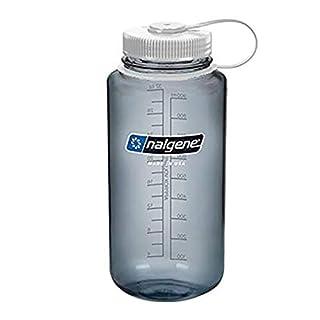 Nalgene Tritan Wide Mouth BPA-Free Water Bottle, 32 Oz, Grey w/White (B08WR5YZG4)   Amazon price tracker / tracking, Amazon price history charts, Amazon price watches, Amazon price drop alerts