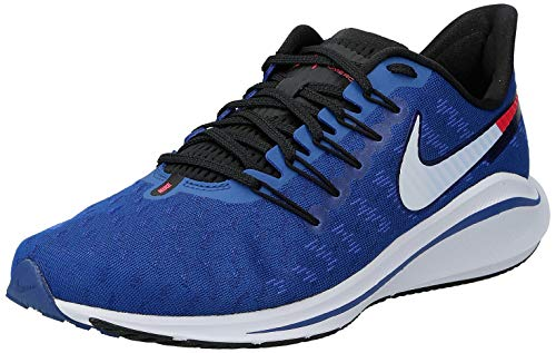 Nike Men's Air Zoom Vomero 14 Running Shoes, Multicolour Indigo Force Photo Blue Red Orbit 400, 6 UK