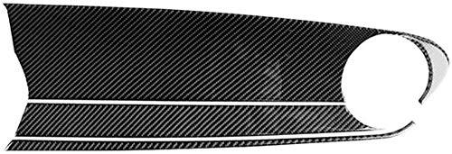 ZHSDTHJY Kolfiber stil Co-Pilot Central kontrollpanel dekaler skydd trim klistermärken, för Chevrolet Camaro 2016-2019