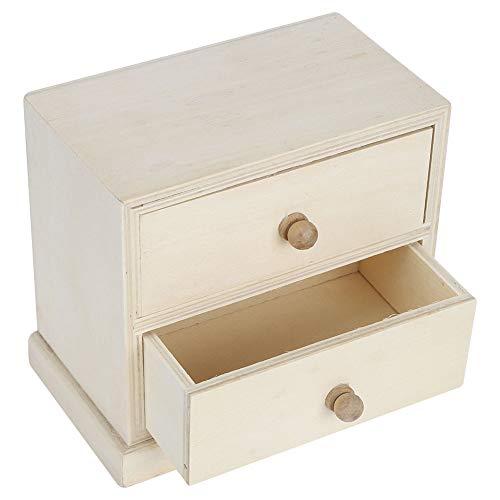 Surebuy Caja de Almacenamiento organizadora de Escritorio, Organizador de cajones de Maquillaje Simple para mostrador de baño, tocador de Dormitorio, mostrador de...