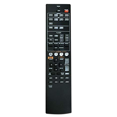 BKAUK Ersatz Fernbedienung Rav521 für Zj66500 Audio/Video Receiver für Rx-V377 Yht-4910U Fernbedienung
