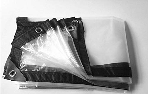 WANGYONGQI Slim verschillende maten 60% transparante buitenkant, waterdicht dekzeil, regenhoes. Doorschijnende vochtbestendige kasfolie 3x7m