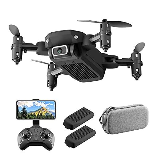 LYHY Droni per Adulti, Mini Drone 4K per Bambini, WiFi FPV 4KMP HD Camera, Ne Key Start, Tap Fly, Regolazione velocità, Flip 3D