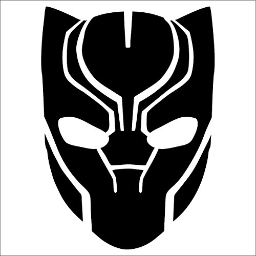 Cove Signs Black Panther Decal / Sticker - Black 4' - Avengers, Marvel