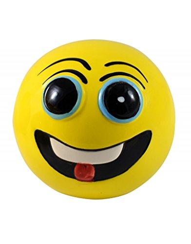 Home Line Hucha de cerámica - Modelo Cara Divertida Emoticono - D