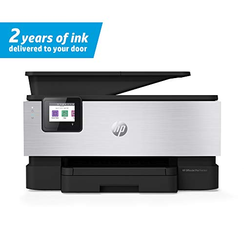 HP OfficeJet Pro Premier All-in-One Wireless Printer - Includes 2 Years of Ink Delivered To Your Door, Plus Smart Tasks for Smart Office Productivity (1KR54A), Grey, One Size