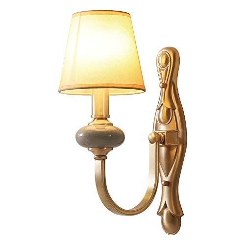 HDDD wandlampen, lantaarn, muur, binnen, buiten, antieke look, met linnen, lampenkap van stof, voor restaurants, woonkamer, badkamer