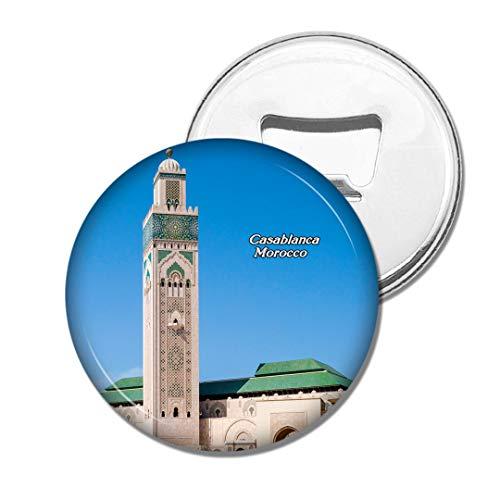 Weekino Marokko-Platz von Mohammed V Casablanca Bier Flaschenöffner Kühlschrank Magnet Metall Souvenir Reise Gift