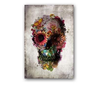 JHGJHK Carteles alienígenas, Arte psicodélico, impresión Abstracta por inyección de Tinta, Pinturas al óleo Decorativas para Salas de Estudio y Salas de Estar (Imagen 10)