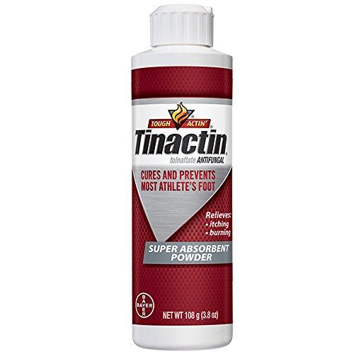 Tinactin Athlete's Foot Super Absorbent Powder,Tolnaftate 1% Antifungal AF Treatment, Proven...