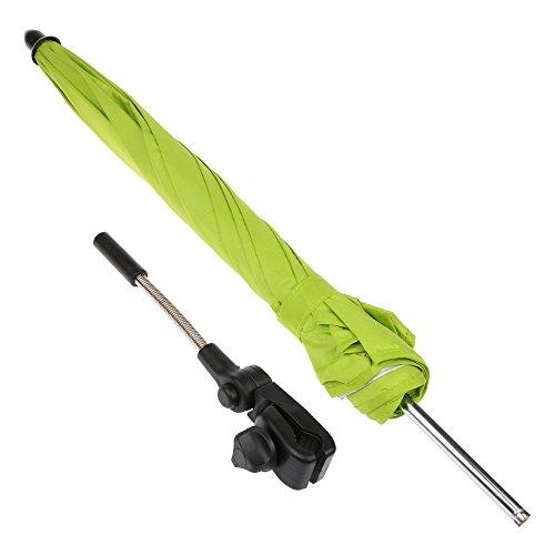 GGG Bébé Enfants Poussette Parasol Landau Ombrelle l'épreuve du vent Parapluie - Vert