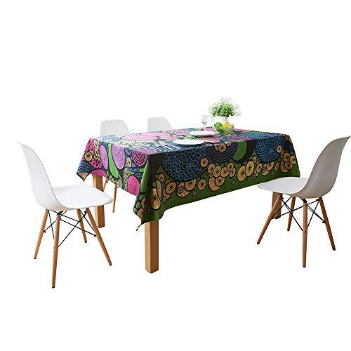 Family Needs Kinderlijke Personality Restaurant tafelkleed Rechthoekige Tablecloth Dwelling Stof Coffee Table Cover handdoek Nachtkastje Doek (Size : 145 * 220cm)