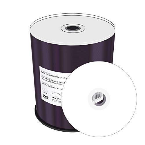 MediaRange MR413 DVD+R 4,7GB (16x Speed, bedruckbar, 100 Stück)