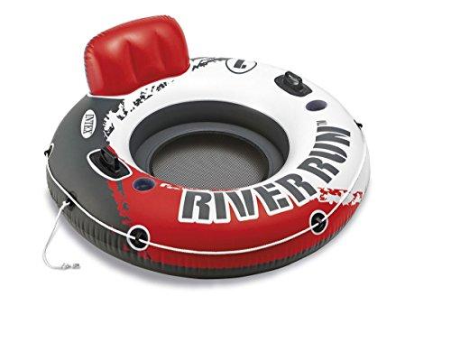 Intex aufblasbarer Schwimmreifen Loungesessel Ø135cm mit Rückenlehne