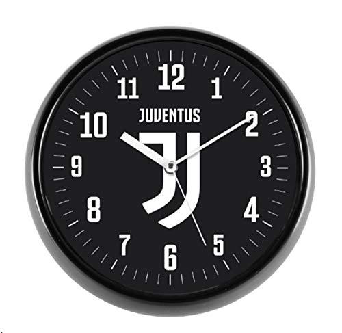 Lowell Wanduhr mit Gehäuse aus ABS | Uhrwerk Continuo leise Größe Ø 30 cm - FC Juventus