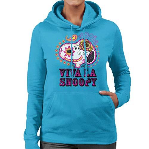 Peanuts Viva La Snoopy Sweatshirt met capuchon voor dames