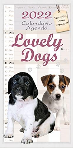 calendario agenda cuccioli di cani 2022 cm 22x44