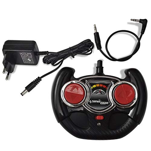 RC Auto kaufen Kinderauto Bild 2: vidaXL Kinderauto mit Fernbedienung Weiß Kinderfahrzeug Elektroauto Cabriolet*