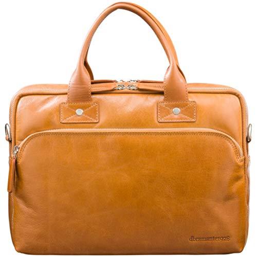 dbramante1928 Kronborg laptoptas, bruin | Handgemaakt volnerfleer, past tot 14 inch laptops