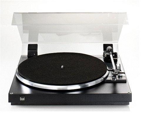 Dual CS 420 - Tocadiscos para equipo de audio, negro