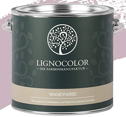 Lignocolor Wandfarbe Innenfarbe Deckenfarbe Kreidefarbe edelmatt 2,5 L (Valencia)