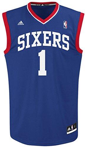 Michael Carter-Williams Philadelphia 76ers Adidas NBA Replica Jersey Maglia - Blue